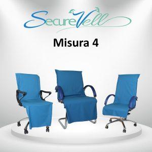 Telino di prevenzione e contenimento contagio per sedie/sedile Misura 4