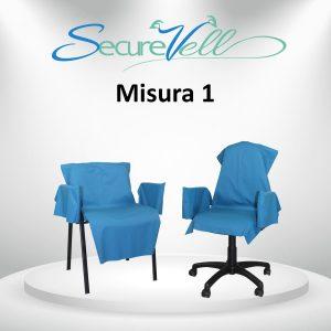 Kit di prevenzione e contenimento contagio per sedia Misura 1