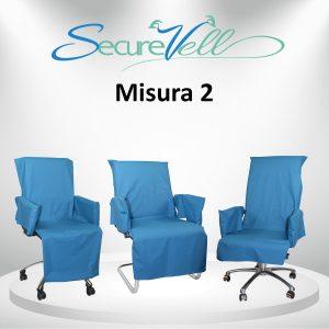 Kit di prevenzione e contenimento contagio per sedia Misura 2