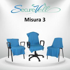 Telino di prevenzione e contenimento contagio per sedie/sedile Misura 3